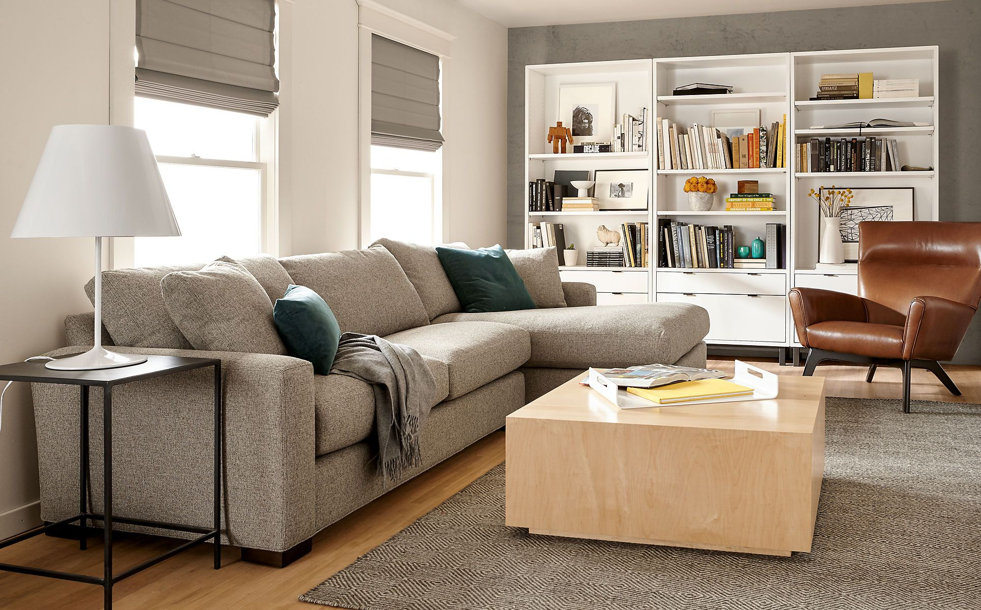 Metro Sectional Modern Sectionals Modern Living Room Furniture