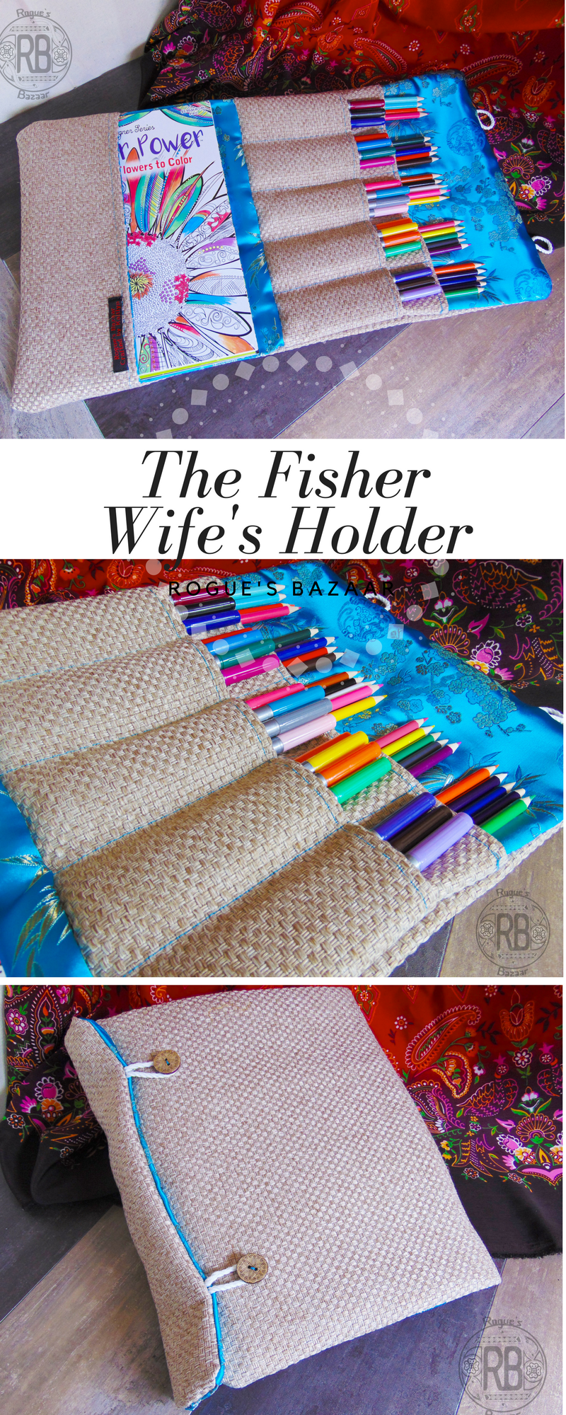 The Fisher Wife\'s Holder - Coloring Book Carrying Case, Adult ...