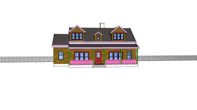 Farm House - 3D Warehouse  aad771e646