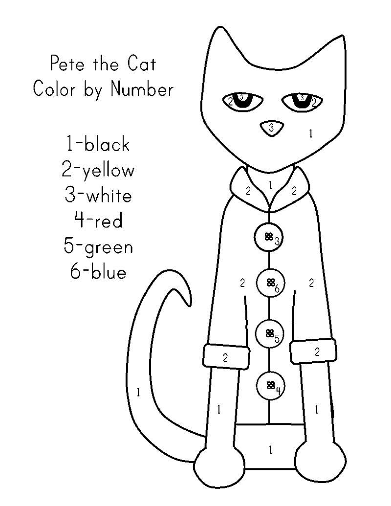 Printable Coloring Pages For Kids Cat Activities For Kids