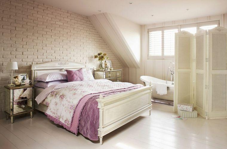Camera Da Letto Padronale Foto : Mobili shabby per l arredo e la decorazione di una camera da letto