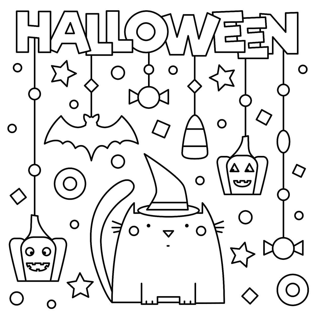Halloween Coloring Pages 10 Free Spooky Printable Activities For Kids Printables 30seconds Mom Halloween Coloring Pages Printable Free Halloween Coloring Pages Halloween Coloring Book