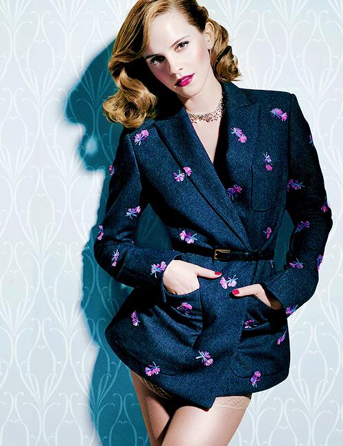 Emma Watson- those curls!