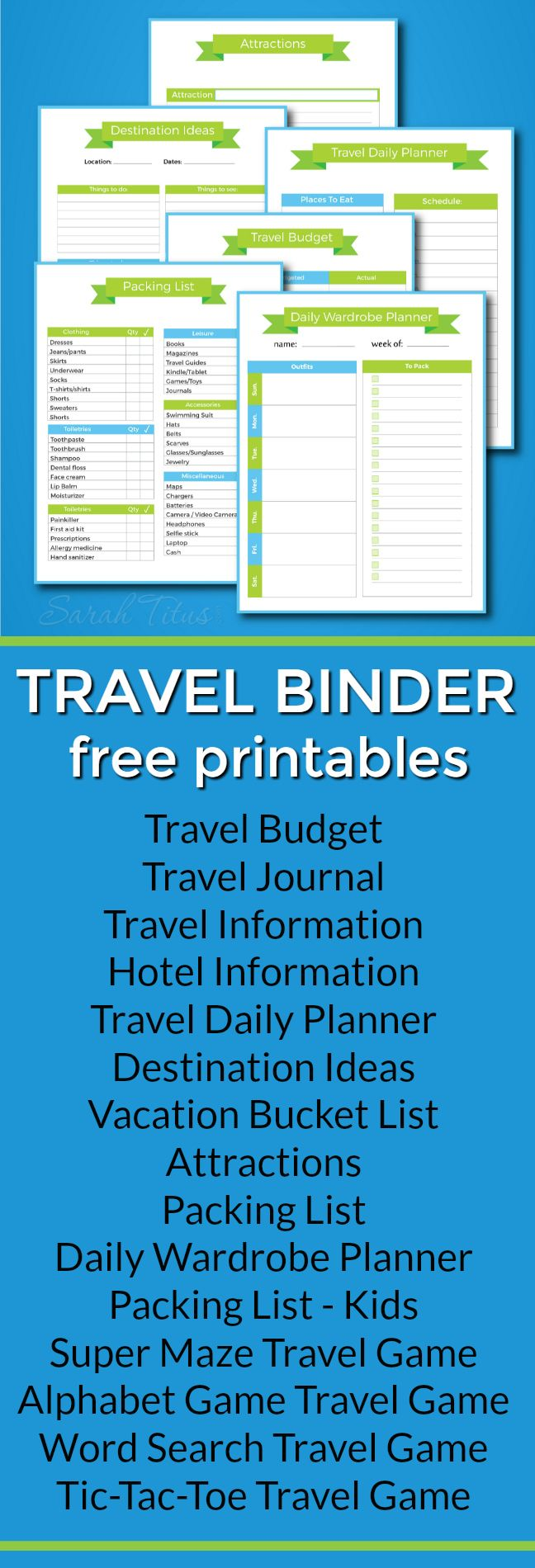 Free Printable Vacation Travel Budget Worksheet  Free Vacations