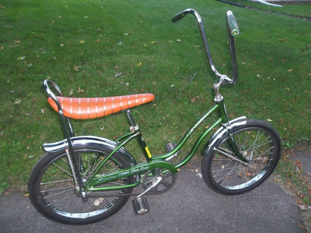 Schwinn Stingray Fair Lady Vintage 1972 Banana Seat Bike 20 S 7