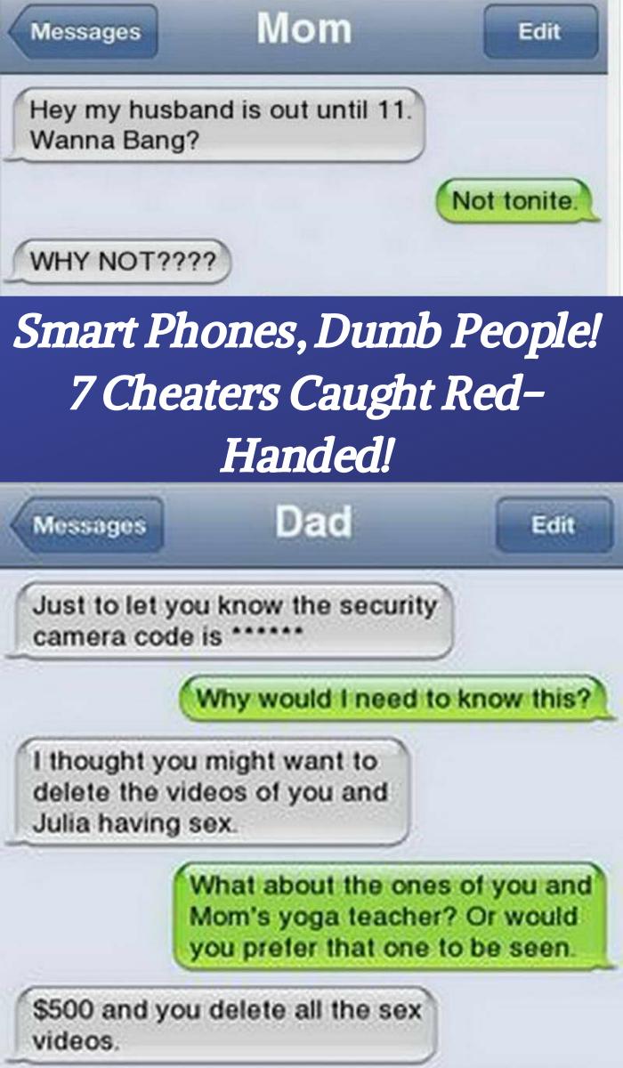 Cheating through text