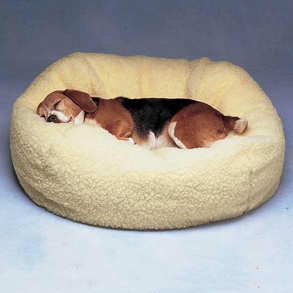 Snuggle Ball Fleece Pet Bed