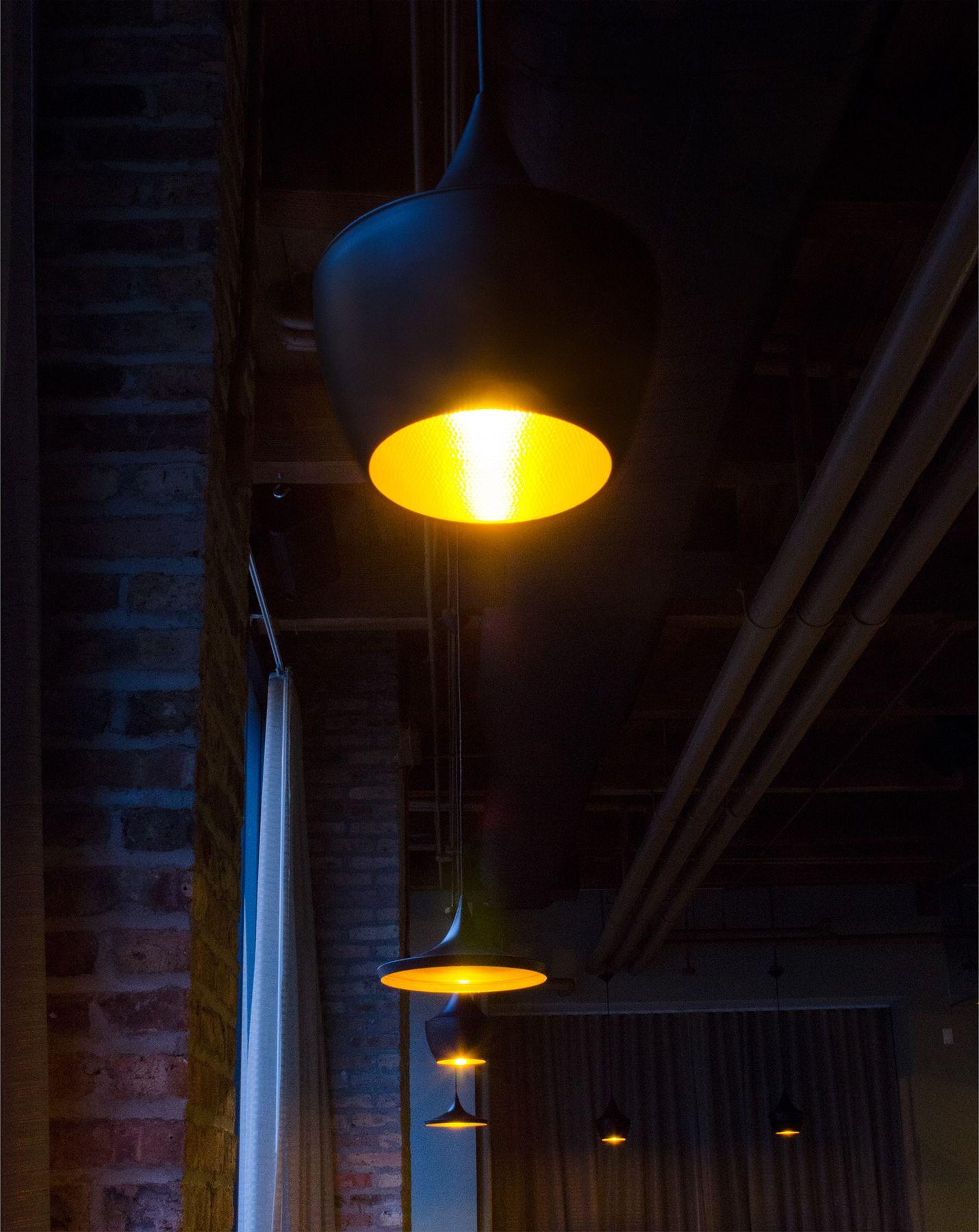 Copo Pendant Restaurant Lighting For Baum Brix In Chicago