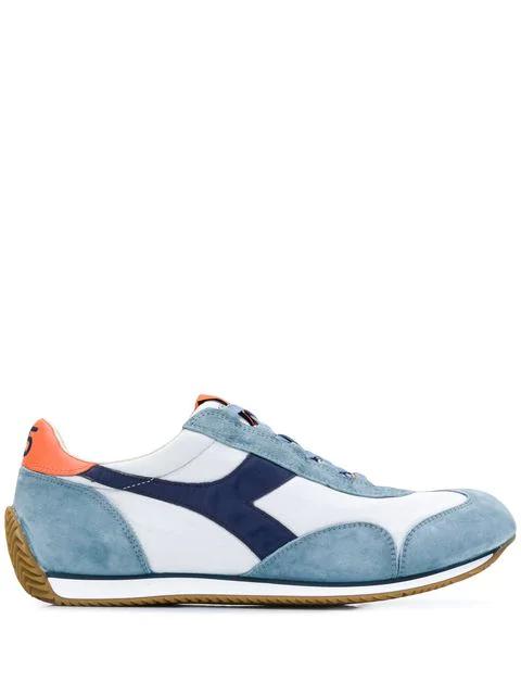 DIADORA EQUIPE H CANVAS STONE WASH. #diadora #shoes | Blue