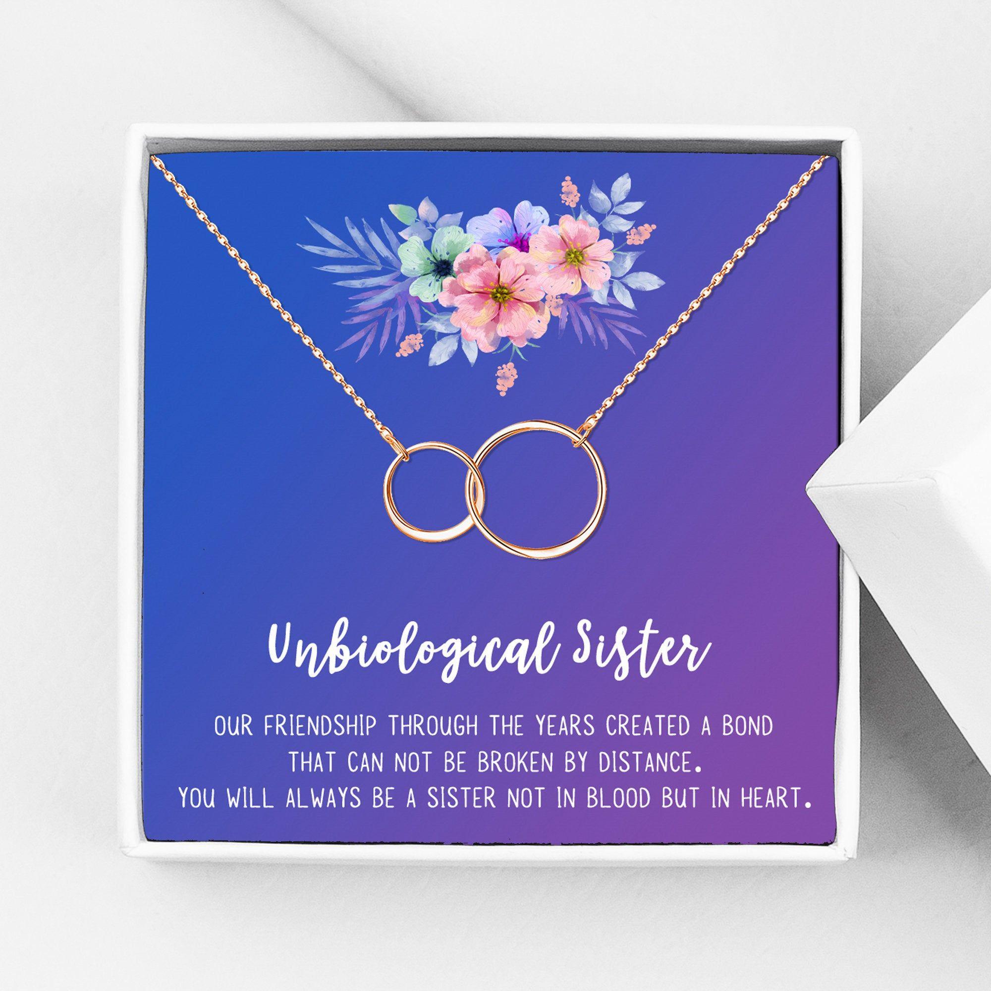 Sister Birthday Gift Best Sister Ever Gift for Sister Necklace SOUL SISTER GIFT