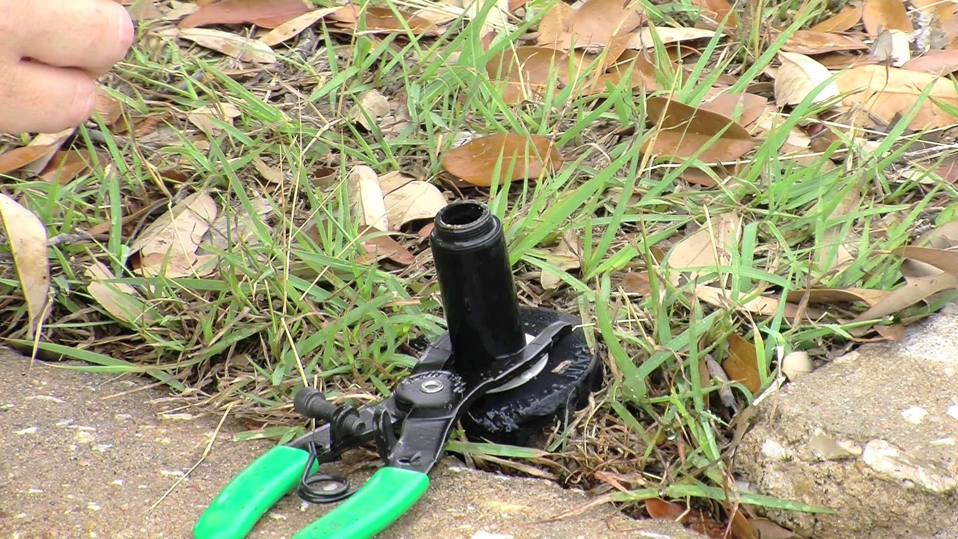 how to fix a clogged sprinkler head avoid a repair bill and get