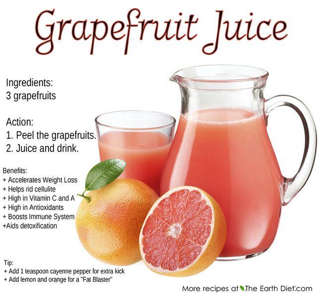 how to make grapefruit juice in a blender