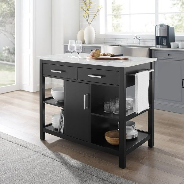 Overstock Com Online Shopping Bedding Furniture Electronics Jewelry Clothing More In 2021 Marble Top Kitchen Island Kitchen Tops Ikea Kitchen Island