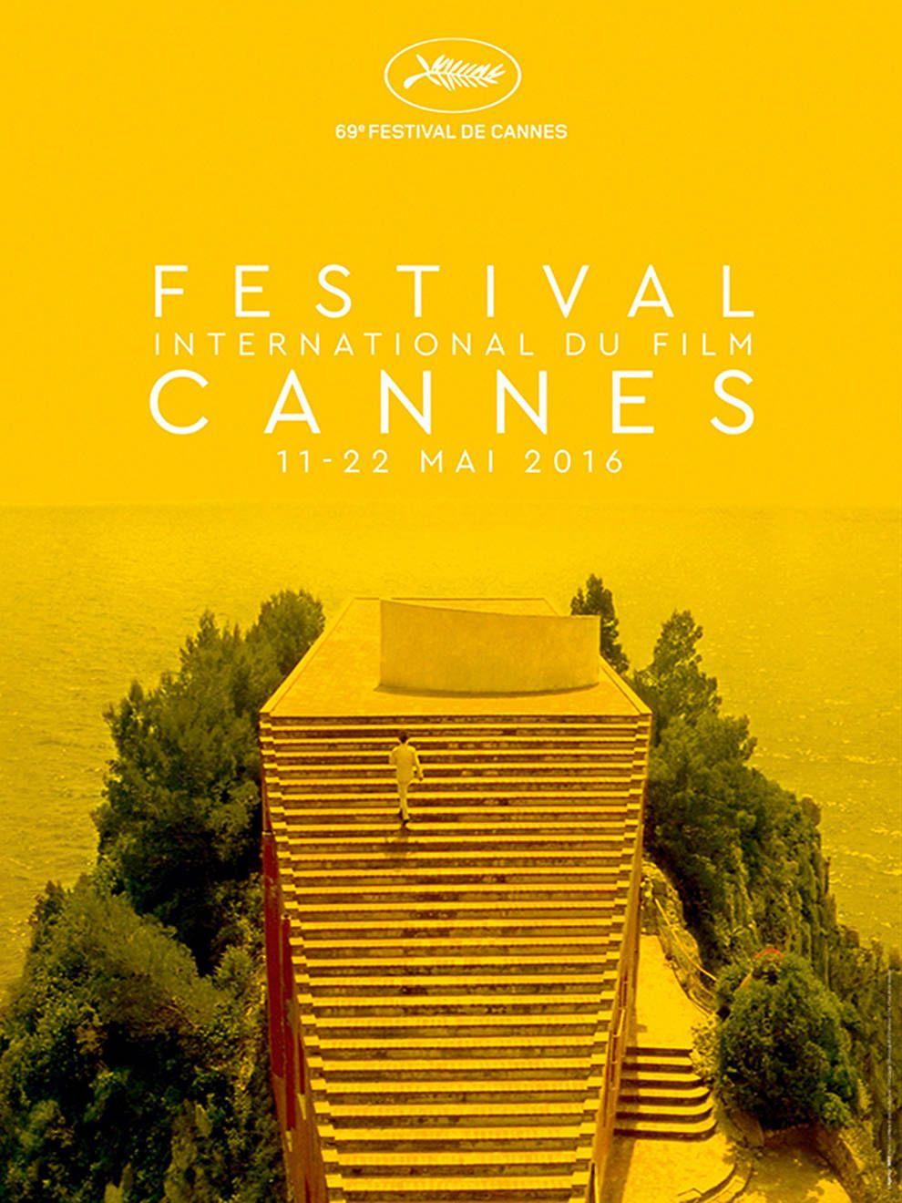 Cartel del Festival de Cine de Cannes 2016, homenaje a 'El desprecio' (Jean-Luc Godard, 1963).