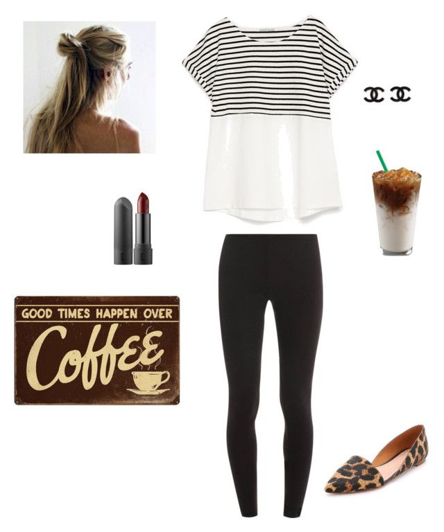 """Coffee date"" by anikapeace ❤ liked on Polyvore featuring мода, Zara, Splendid и Madewell"