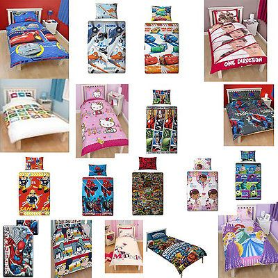 Fireman Sam Childrens Disney And Character Single Or Double Duvet Covers Kids Bedding Se