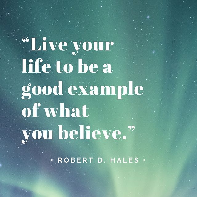 About Being Good Example Quotes Inspiration Frases