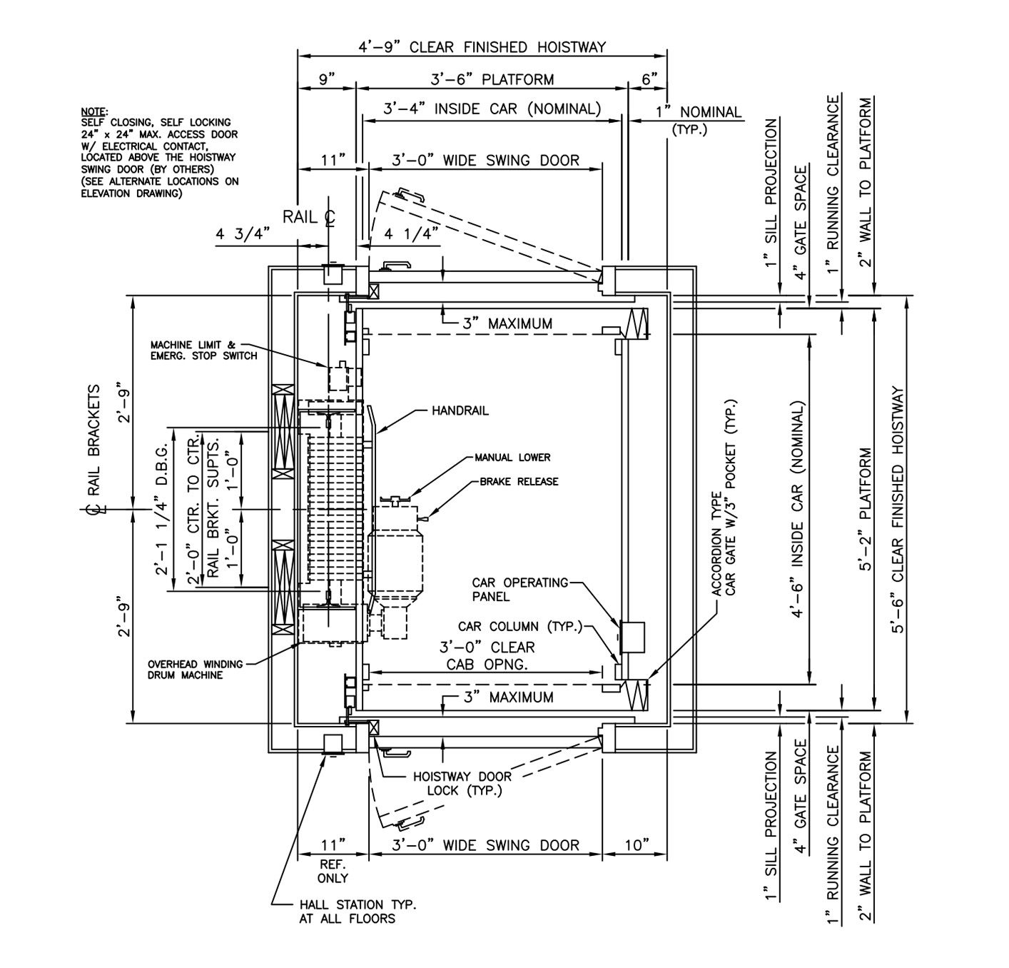 Cable Drive Drawings