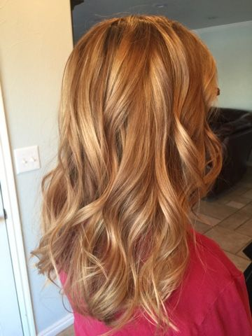 Golden Blonde With Highlights Hair Highlights Blonde Highlights Dyed Blonde Hair