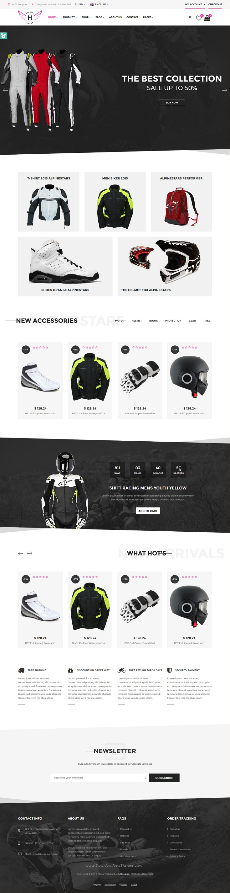 Motor vehikal is perfect 8 in 1 #bootstrap #theme for Motorcycle ...