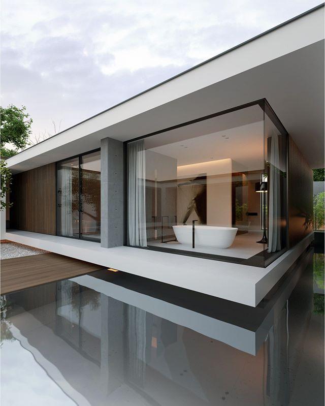 Design by Line Architecture  / Diseño por Line Arquitectura - faire sa maison en 3d