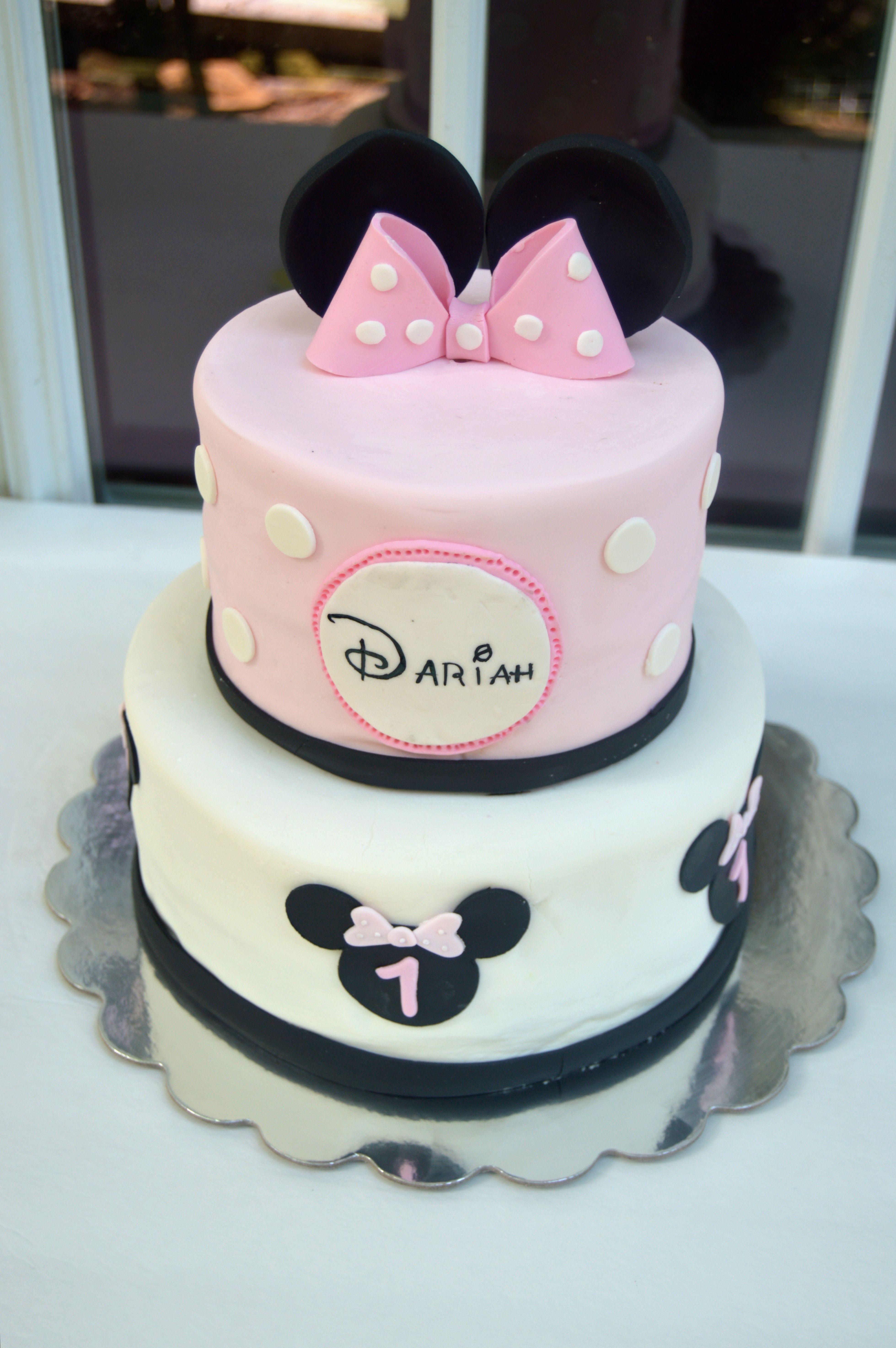 Minnie Mouse The Sweetest Temptation Bakery Pinterest