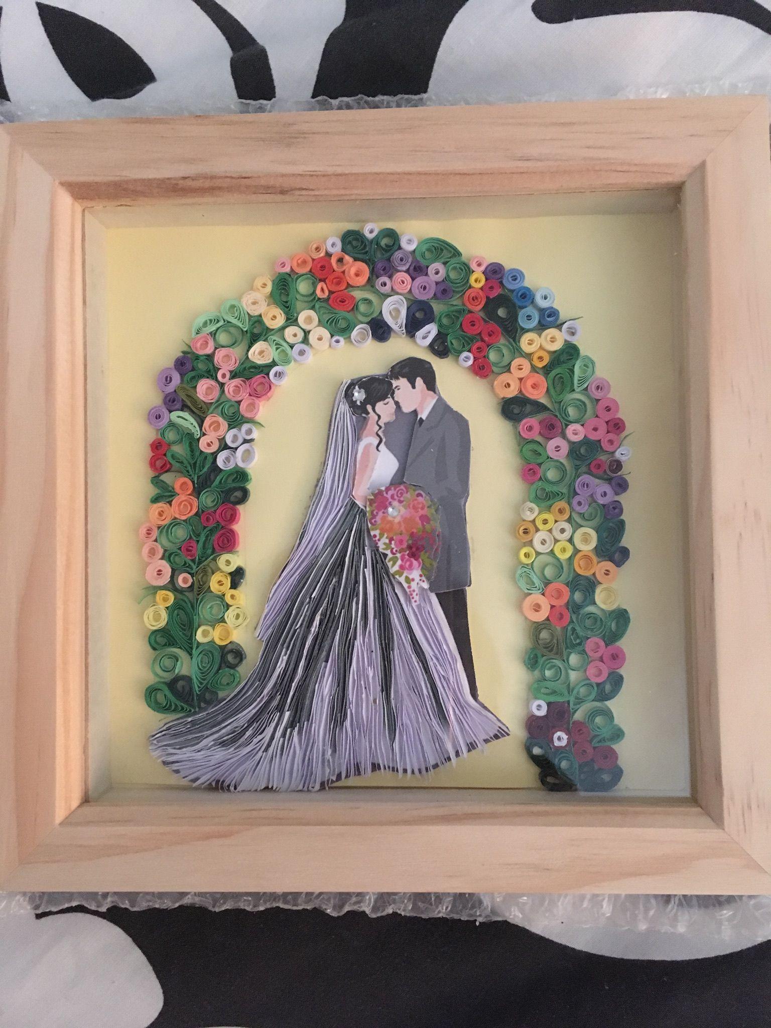 Quilling wedding decorations  wedding quilling  wedding book idea  Pinterest  Quilling