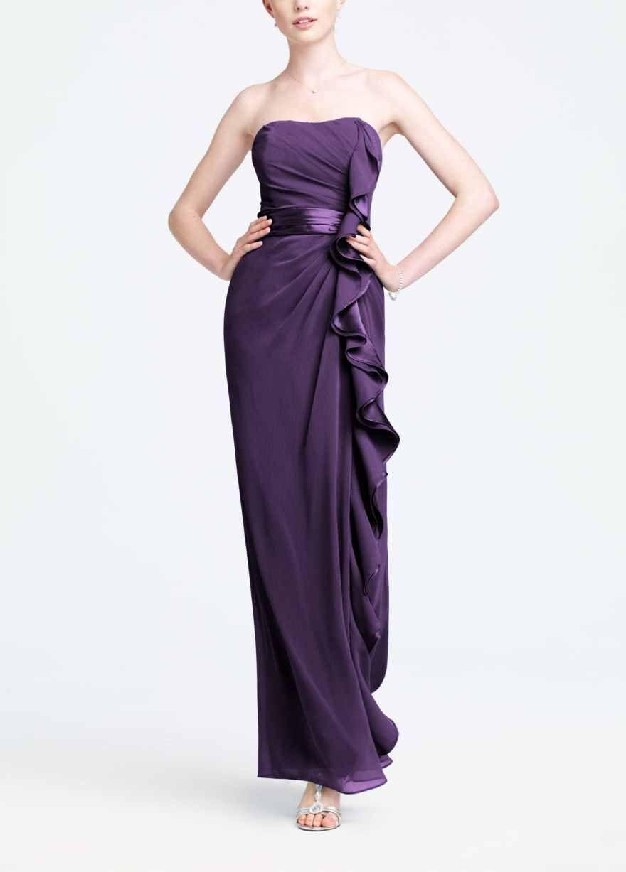 Excelente Vestidos De Dama Davids Ideas Ornamento Elaboración ...