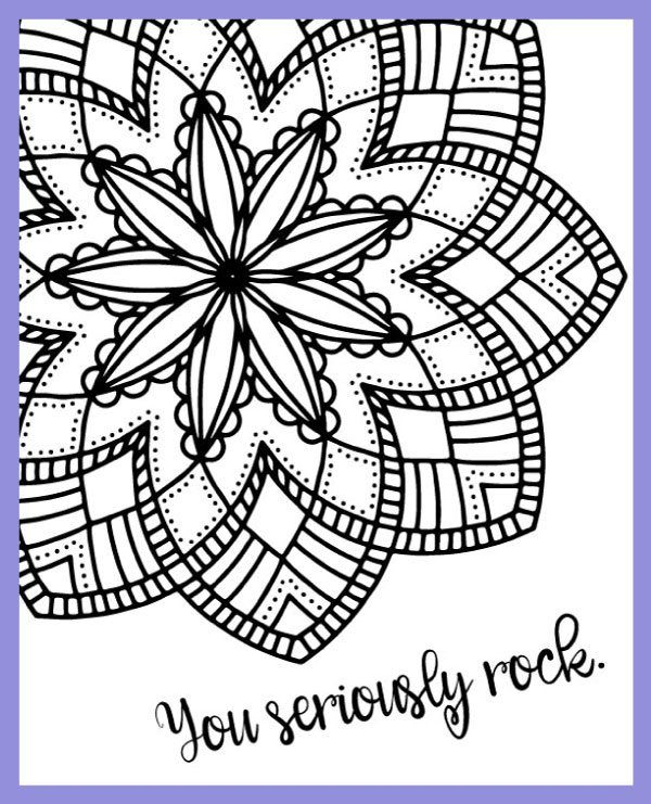 Free Coloring Pages With Designs