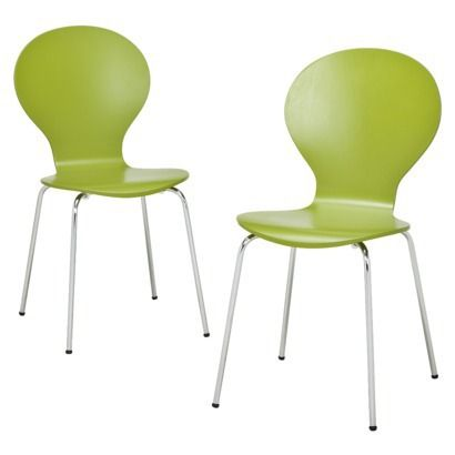 Good Modern Stacking Chair   Set Of 2   Possible Desk Chairs?