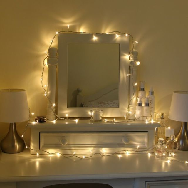 Ways To Use Fairy Lights To Make Your Home Look Magical - Fairy lights bedroom ideas
