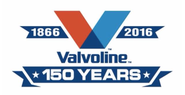 Valvoline Celebrates 150th Commemorative Year Anniversary Logo Commemoration Years