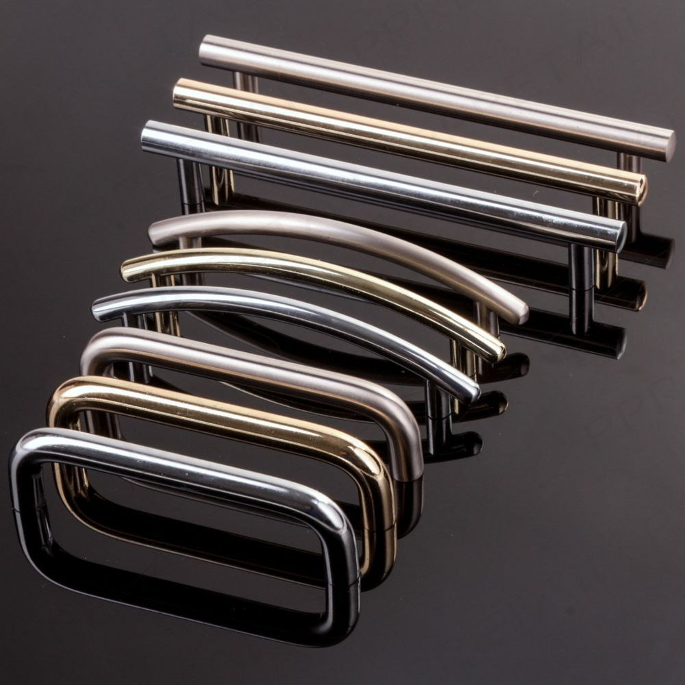 Modern Polished Chrome/Brass/Brushed Nickel Pull Handles Cupboard ...