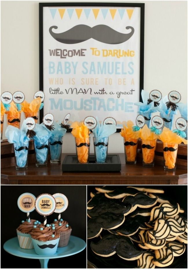 boy baby shower ideas mustache theme  mustache theme, boy baby, Baby shower invitation
