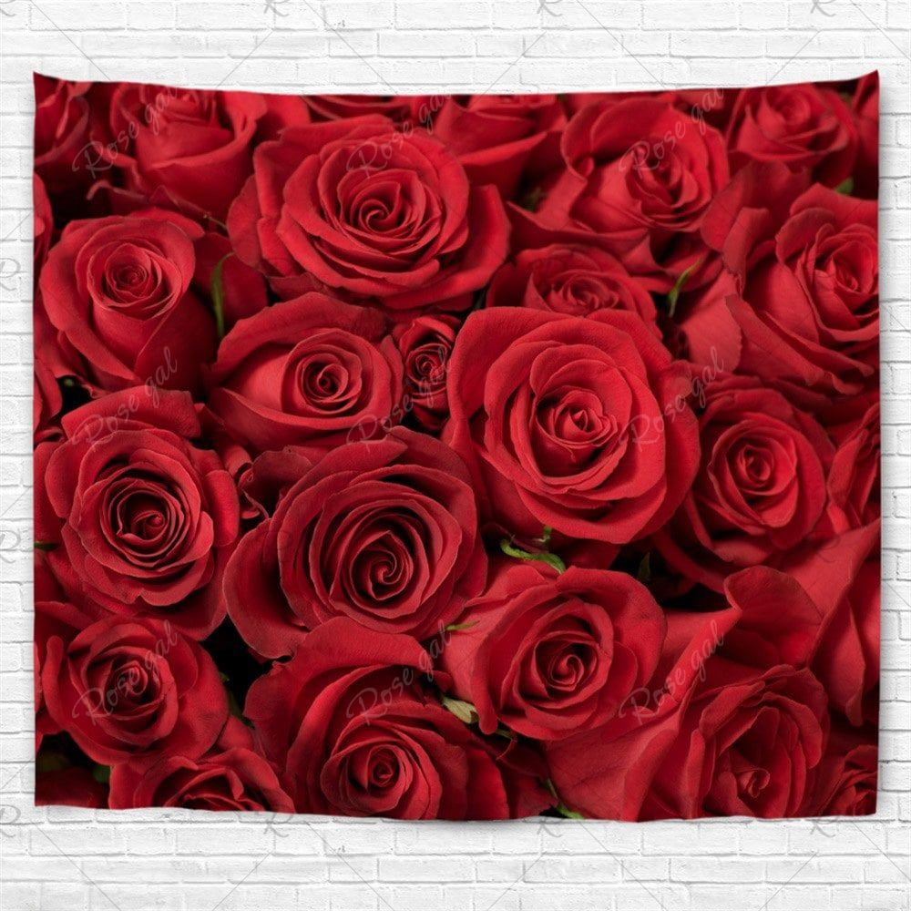 valentines day roses print wall tapestry wall tapestry on walls coveralls website id=34746
