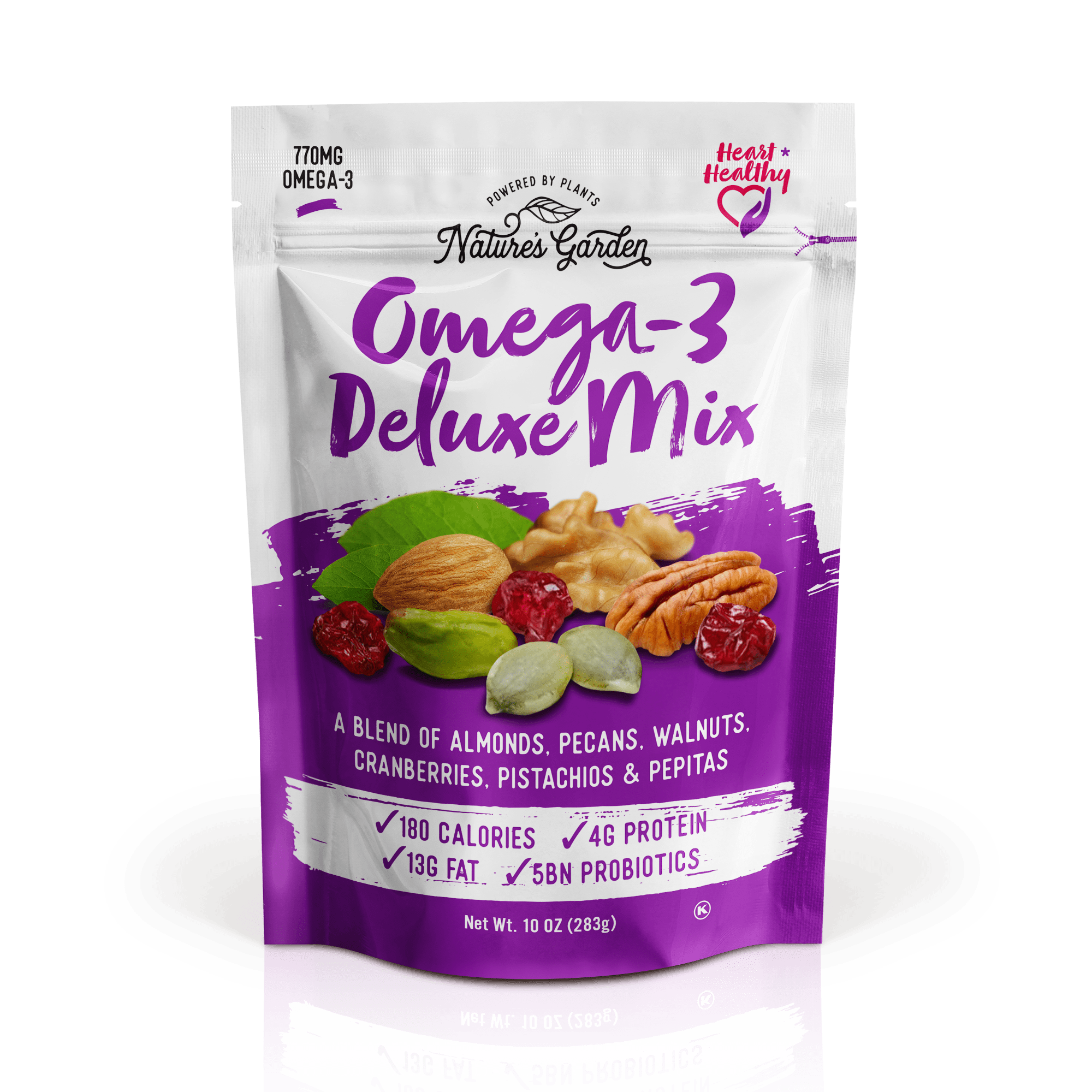 Nature S Garden Omega 3 Deluxe Mix In 2021 Healthy Snacks Trail Mix Ketogenic Snacks