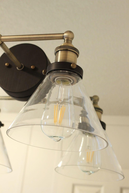 15 Amazing Edison Bulb Bathroom Fixture Modeling Ideas | Bathroom ...