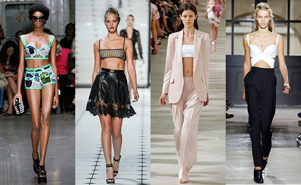 #cropped #croptop #crop #fashion #Models #runway