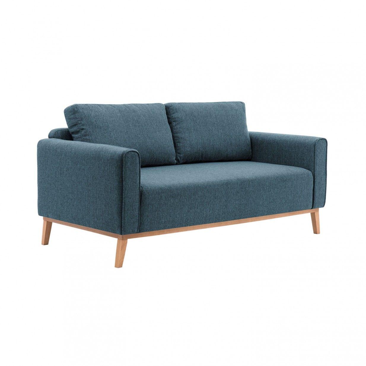 Milton 3 Sitzer Sofa Blau Vivonita Mobelstuck 3 Sitzer Sofa Einrichtung