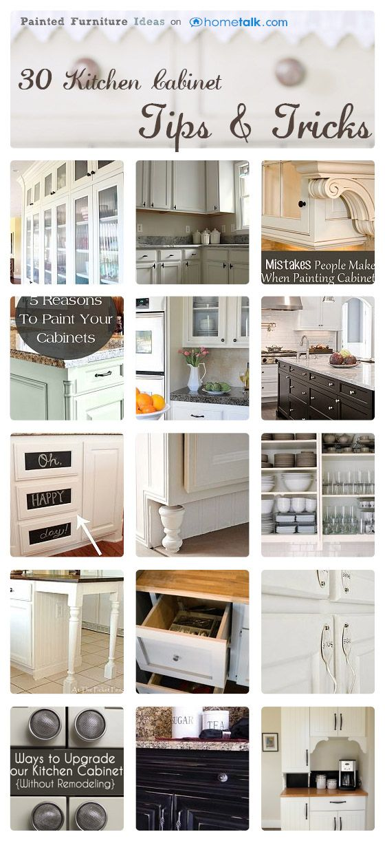 30 Kitchen Cabinet Tips Tricks Painted Furniture Ideas Home Decor Home Diy Home Kitchens