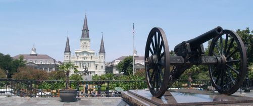 St. Louis Cathedral in Jackson Square...beautiful church in the heart of the French Quarter. One of my favorite places in New Orleans!