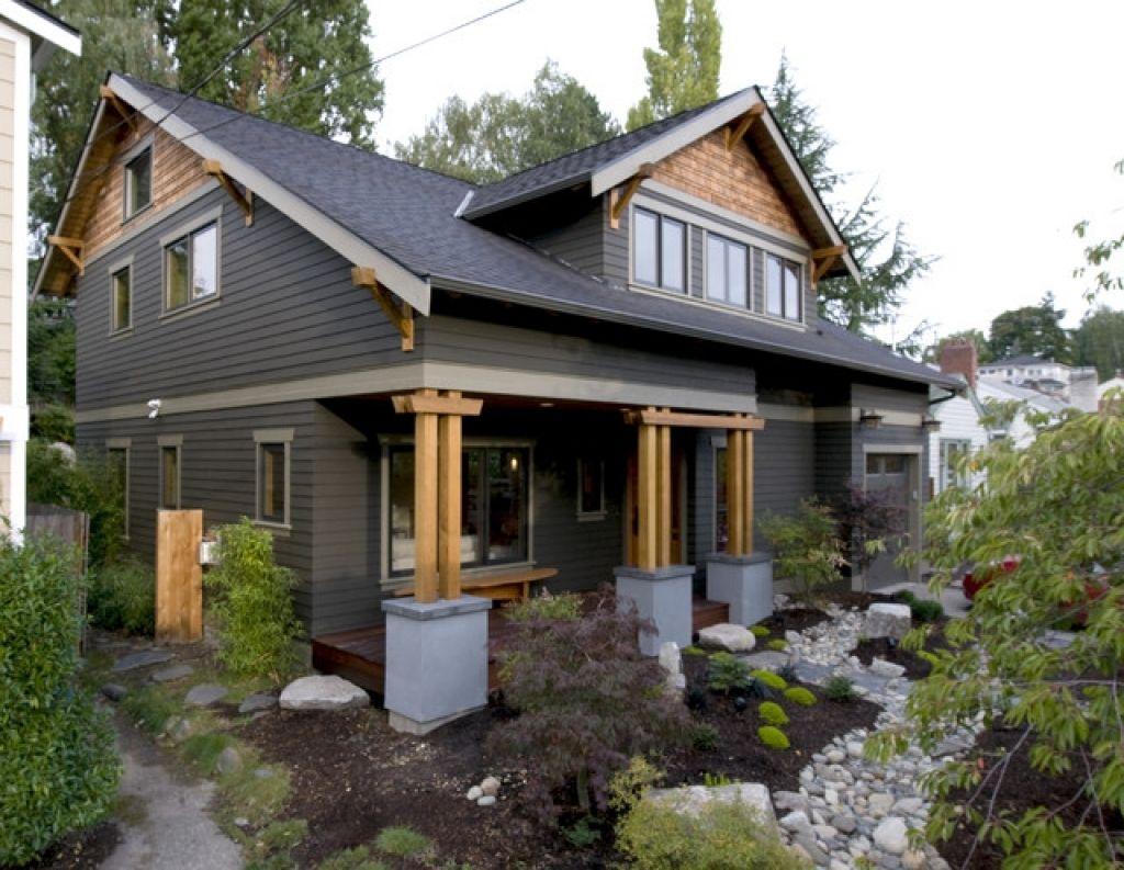 Craftsman Home Exterior Colors House Exterior Paint Colors Home Painting  Photos Part 9