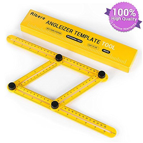 Aitere Angle Ruler Angle Finder Angle Izer Template Tool Finder Ruler General Measuring All Angles And Forms Measurement Tools Custom Bricks Geometric Tools