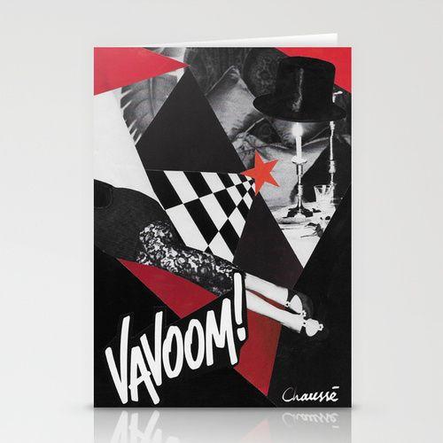 Vavoom Stationery Card