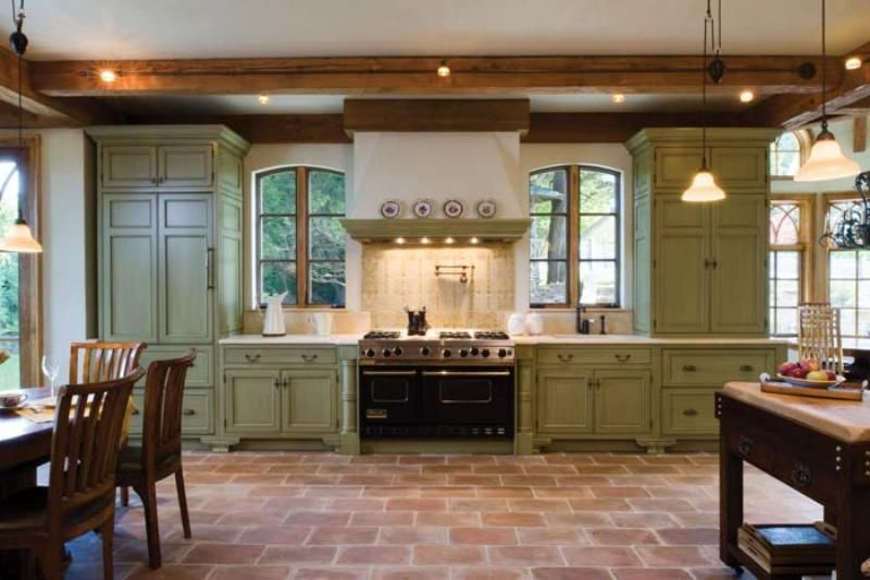 bertch custom cabinetry custom inset door style in maple painted custom color with glaze  painted green cabinets for kitchen     best green for kitchen walls   traditional living   pinterest      rh   pinterest com
