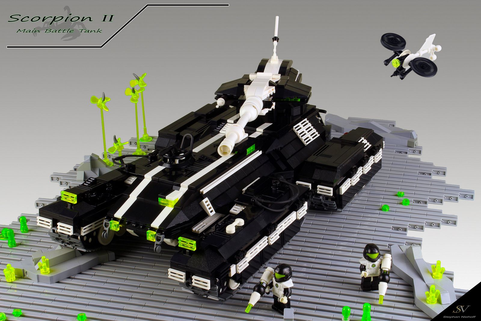 Scorpion II (With images) Blacktron, Combat evolved