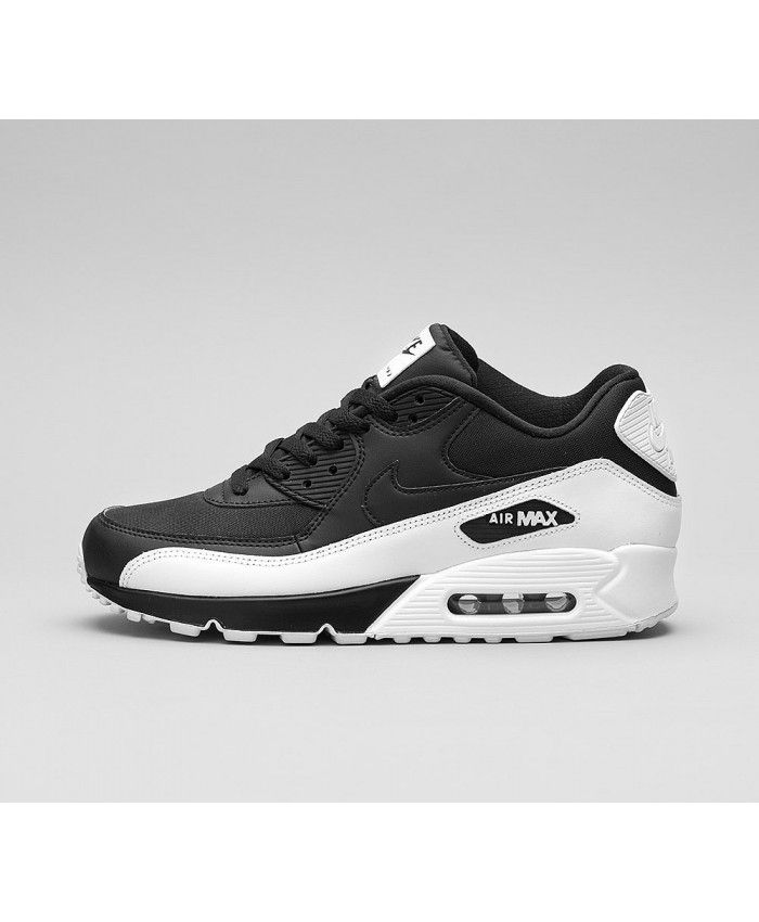 info for 6d2d1 532a8 Nike Air Max 90 Essential Chaussures Noir Blanc