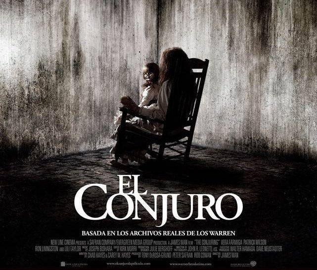 El Conjuro The Conjuring Conjuro Terror Movies Horror Conjuring Cartazes De Filmes De Terror Invocacao Do Mal Terror
