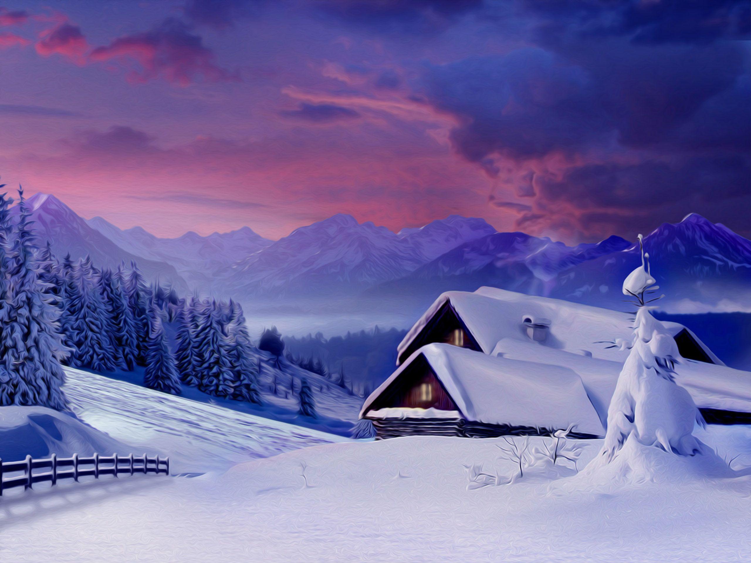 winter snow scene pictures snow wallpapers desktop
