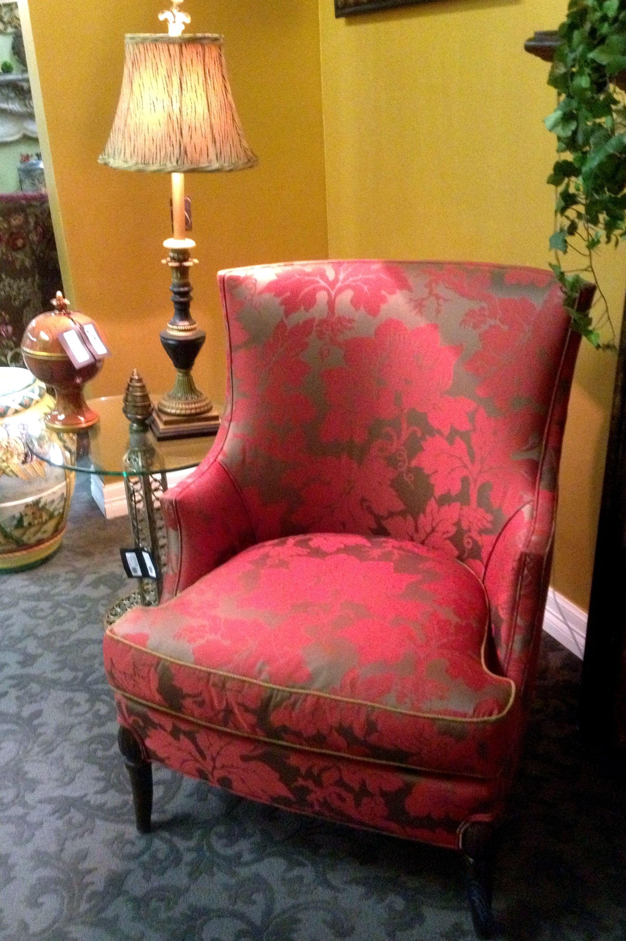 Hickory Chair Co. Cantrell Chair in COM Living room